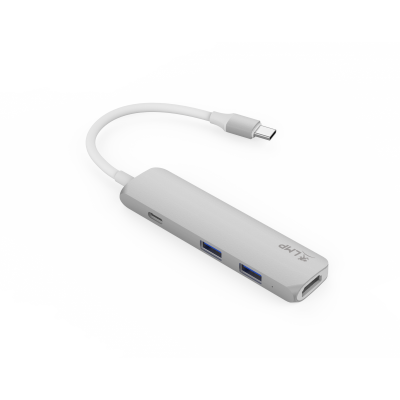 LMP USB-C Combo Hub - Silver
