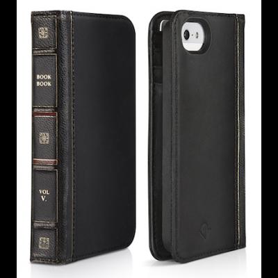 TwelveSouth BookBook for iPhone SE - Black