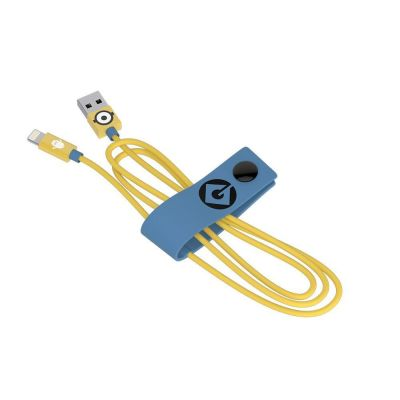 Tribe Minions Lightning Cable (Carl) (120cm) - Yellow