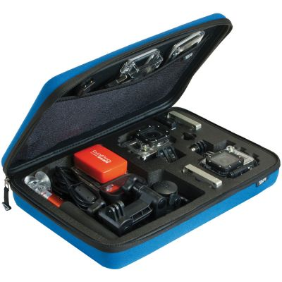 SP Gadgets POV Case for GoPro Cameras (Large, Blue)