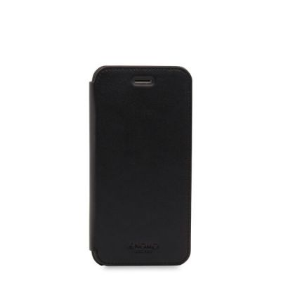 (EOL) Knomo Leather Folio for iPhone 7/8 - Black