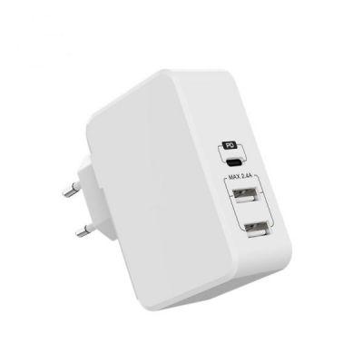 Adaptor Epico cu 3 porturi USB - alb