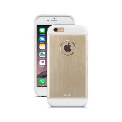 (EOL) Moshi iGlaze Armour for iPhone 6/6s - Satin Gold