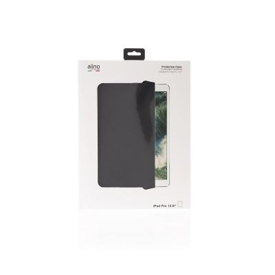 Aiino Roller case with clear back for 12.9inch iPad Pro (Premium) - Black