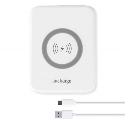 Aircharge Slimline Wireless Charger - White