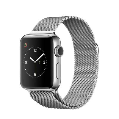 Apple Watch Series 2 Stainless Steel Case with Silver Milanese Loop (38mm)