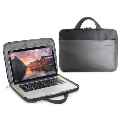 Tucano Dark Slim Bag for MacBook 12inch/Pro Retina 13inch - Black