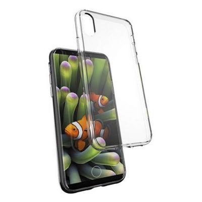 Husa TPU iPhone X Epico - Alb transparent