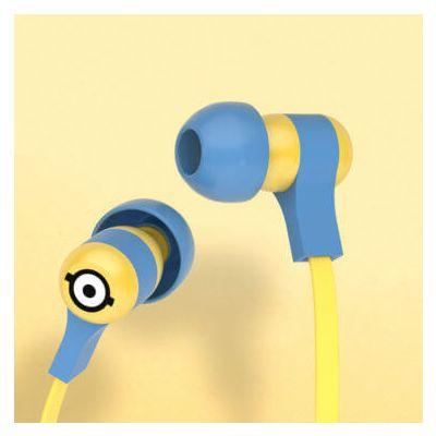 Tribe Minions Swing Earphones (Carl) - Blue