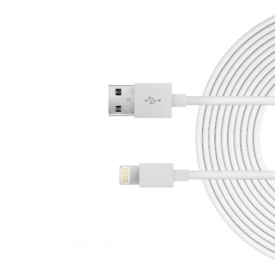 Just Wireless Lightning Cable (3m) - White