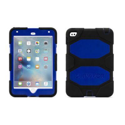 Griffin Survivor All-Terrain Rugged Case for iPad mini 4 - Black/Blue