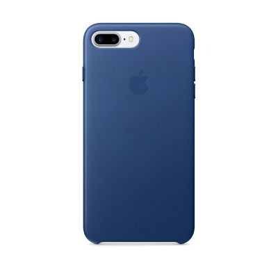 (EOL) Apple Leather Case for iPhone 7 Plus/8 Plus - Sapphire