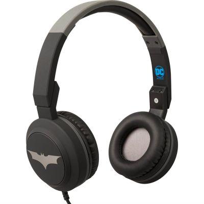 Tribe DC Movie Pop Headphones (Batman) - Black