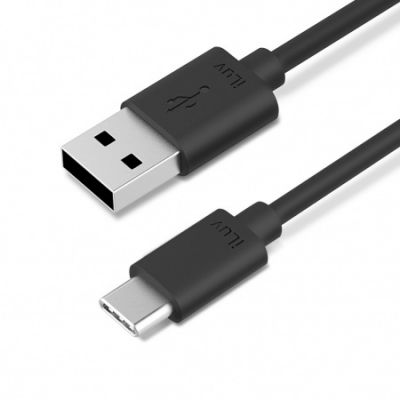 iLuv USB-C to Standard USB Cable (1m) - Black