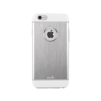 Moshi iGlaze Armour for iPhone 6/6s - Jet Silver