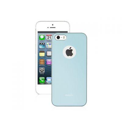 Moshi iGlaze HardShell Slim for iPhone SE - Coral Blue