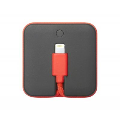 Native Union Jump Cable Coral 2-in-1 (charging cable and battery booster 800mAh) - Orange