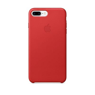(EOL) Apple Leather Case for iPhone 7 Plus/8 Plus - (PRODUCT)RED
