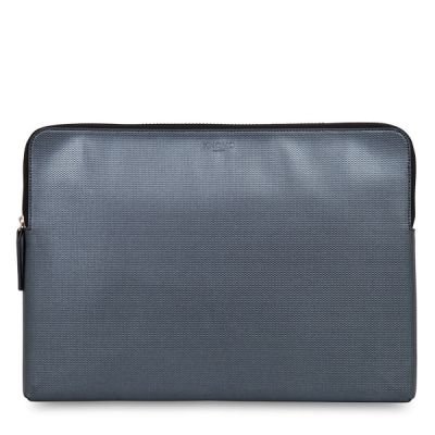Knomo EMBOSSED Laptop Sleeve 15inch - Silver