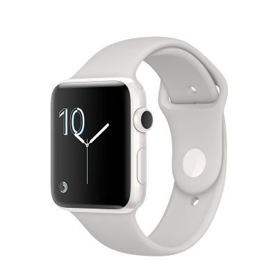 Apple Watch Edition White Ceramic Case with Cloud Sport Band (42mm)