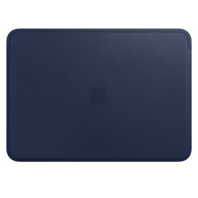 "Apple Leather Sleeve for 12"" MacBook - Midnight Blue"