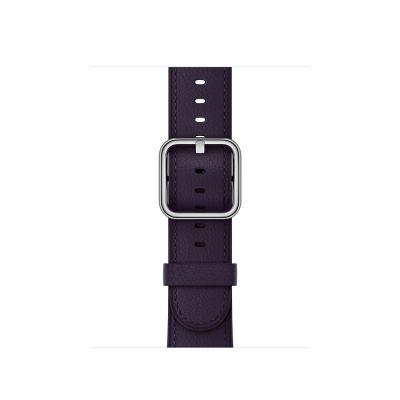 Apple Watch 38mm Buckle: Classic - Dark Aubergine (curea)