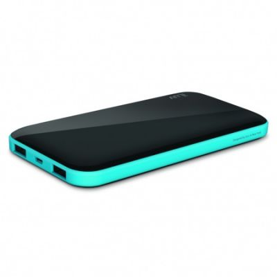 (EOL) iLuv Slim Portable Power Bank (10000mAh)  - Black