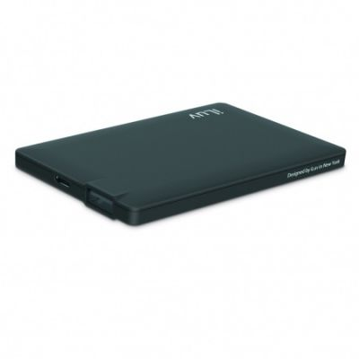 iLuv Slim portable Power Bank (2500mAh) - Black