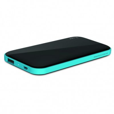 iLuv Slim Portable Power Bank (5000mAh) - Black
