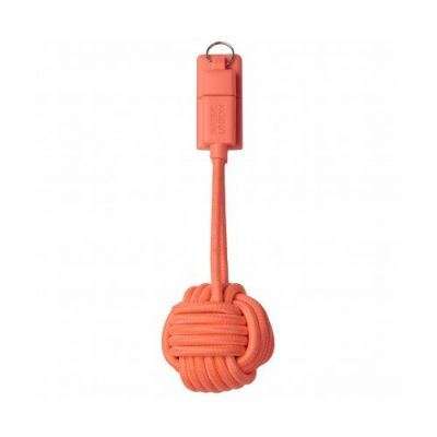 Native Union KEY Lightning Cable - Coral