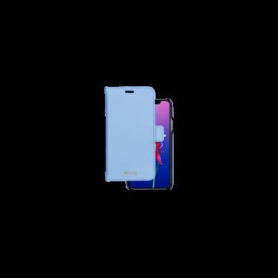 Husa de protectie New York Folio pentru iPhone X / iPhone Xs, Forever Blue
