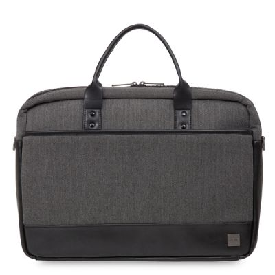 Knomo PRINCETON Laptop Briefcase 15inch - Grey