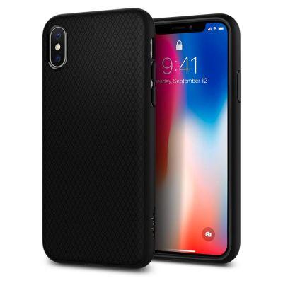 Spigen Liquid Air for iPhone X - Black