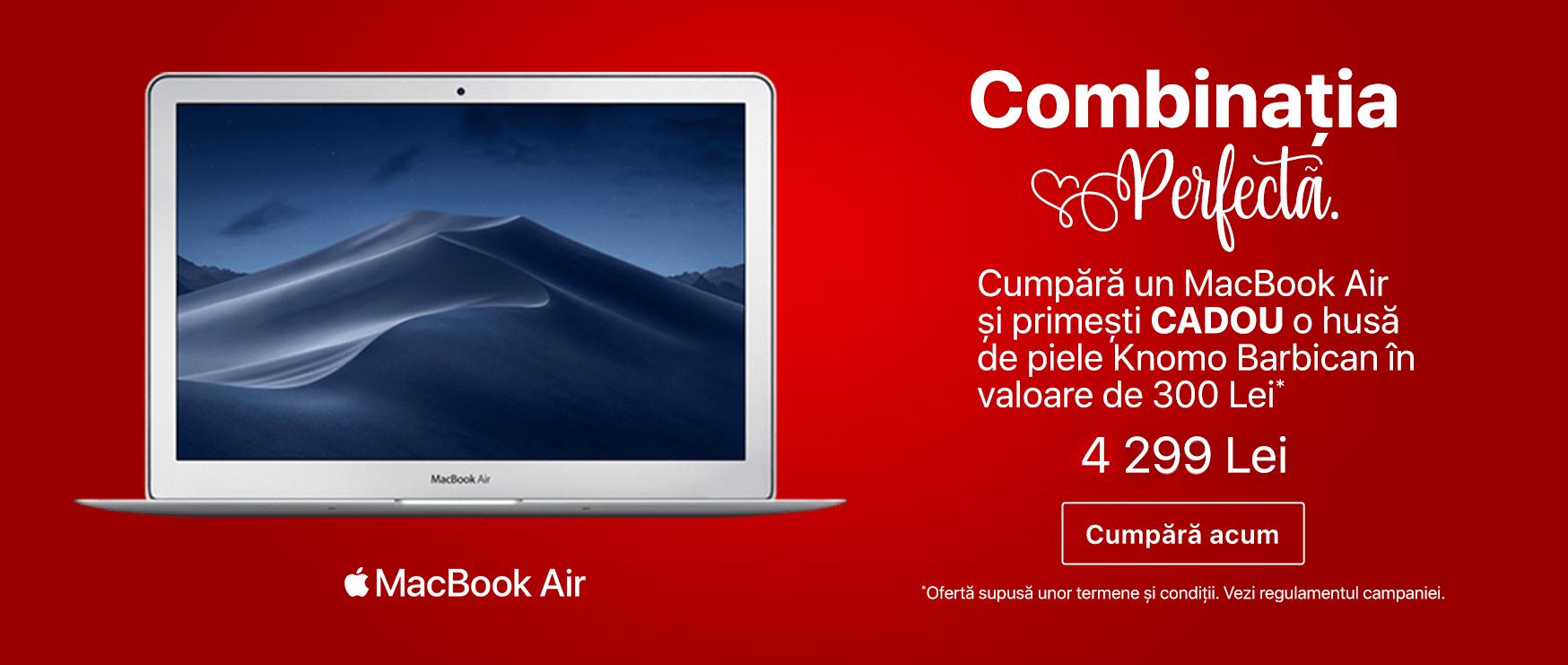 MacBook Air + Husa cadou