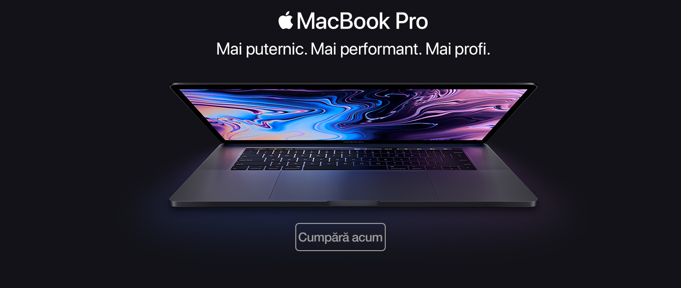 MacBook Pro Touch Bar cu Touch ID 2018