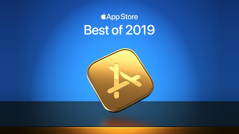 simbol apple app pe fundal albastru