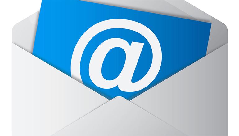iconița aplicației mail