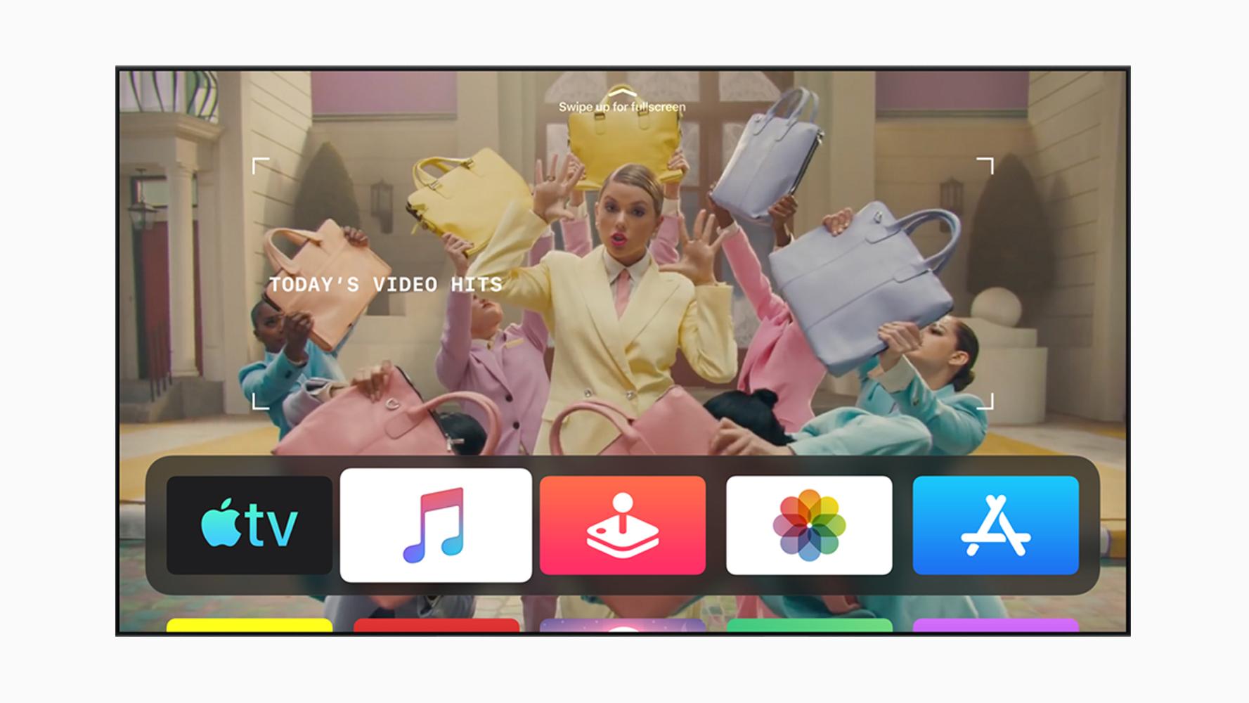 screenshot apple tv