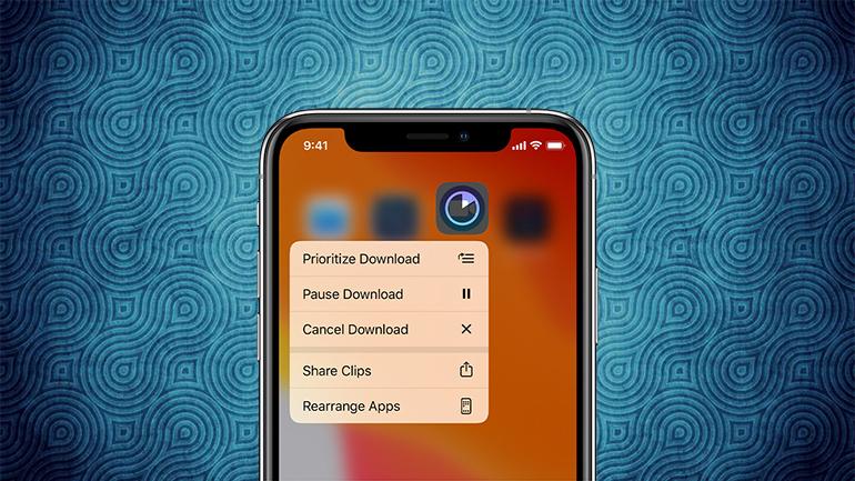 iphone pe fundal albastru