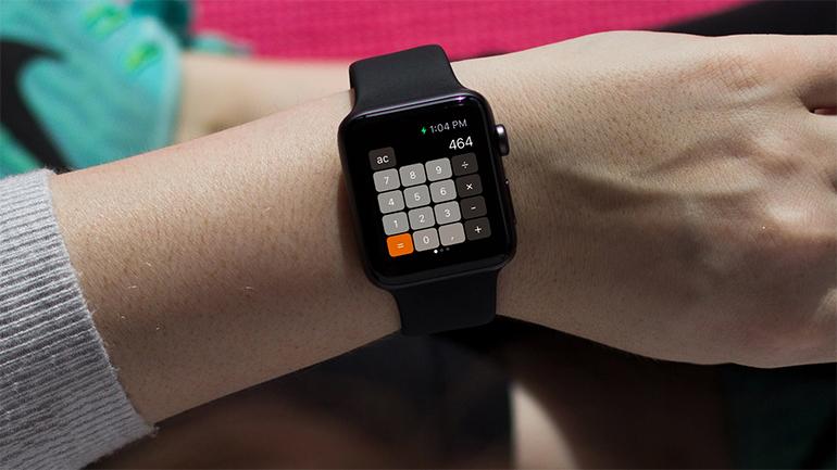 calculator pe apple watch