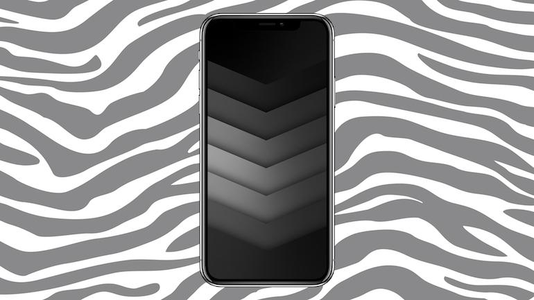 background iphone pe fundal zebra