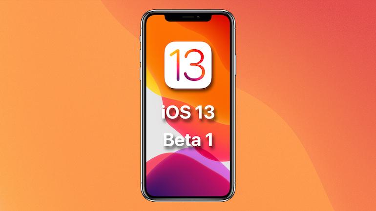 iOS13 pe iPhone XS