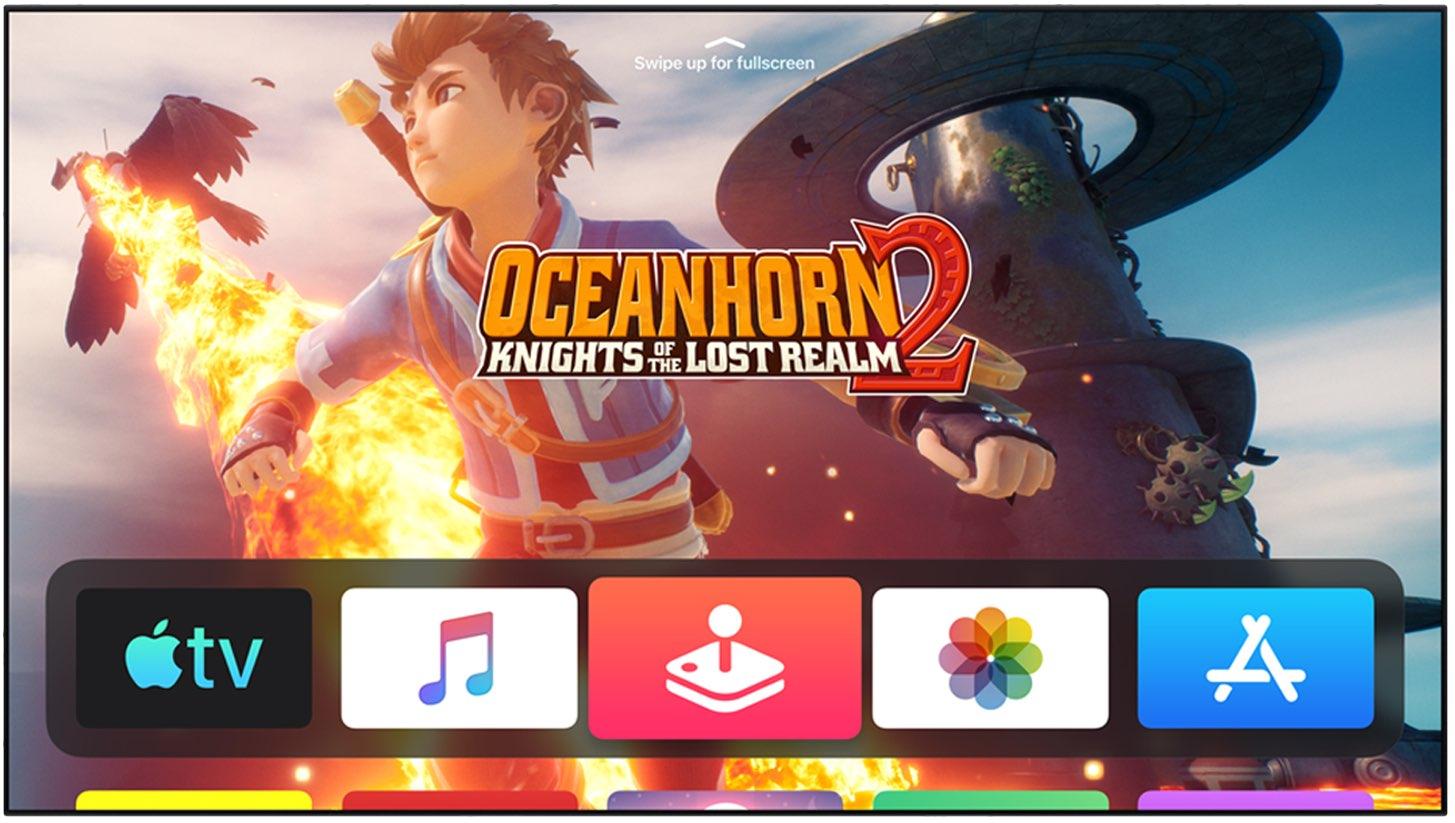 imagine cu jocul oceanhorn 2