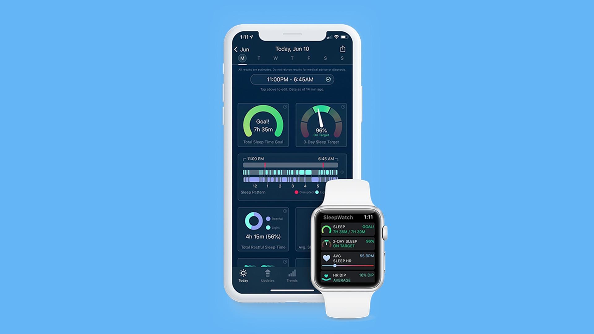 aplicatie tracking sleep pentru iphone