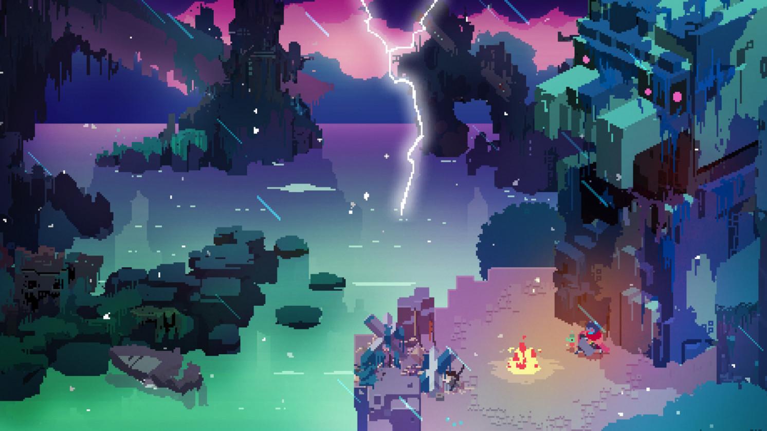 imagine din jocul hyper light drifter